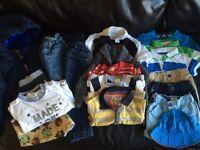 Boys mixed bundle 6, 9 & 12 months