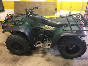 01 Arctic cat 500 automatic