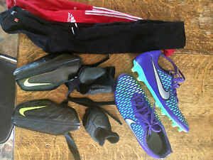 SOCCER Cleats, Shin Guards & Socks