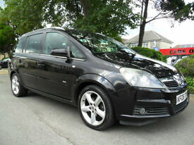 VAUXHALL ZAFIRA 1.8i 16v 2006 SRi COMPLETE WITH M.O.T HPI CLEAR INC WARRANTY
