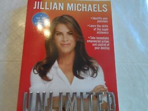 "Jillian Michaels - ""UNLIMITED"" Book Belleville Belleville Area image 1"