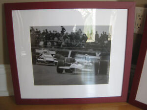 Pottery Barn Framed Race Car Pictures (3) Windsor Region Ontario image 2