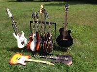 Guitars for sale