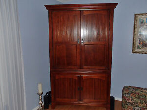 Beautiful Solid Wood Armoire/Entertainment Center