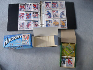 +1500 Hockey Cards 90-92 - Complete and Near Complete Sets