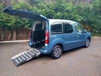 2014 Peugeot Partner 1.6HDi ( 92bhp ) Tepee S Wheelchair Accessible Vehicle.