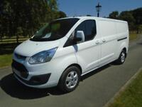 FORD TRANSIT CUSTOM 290 125PS LIMITED L2H1 LWB VAN 65 REG 99,000 MILES