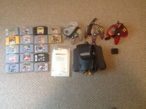 N64 Console and Games - Sold Pending Pick-up