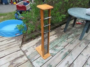 CD RACK - WOODEN - REDUCED!!!!