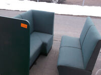 Assorted Seating Booths (lot of 10)  #1127-14CS