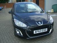 Peugeot 308 1.6HDi ( 92bhp ) FAP ( NAV ) 2013.5MY Active