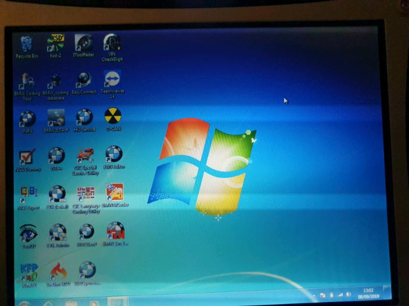 Panasonic CF-19 mk3 bmw coding laptop centrino dual core 500gb hdd | in  Pilgrims Hatch, Essex | Gumtree