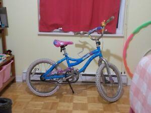 Vélo pour fille 14 pouces