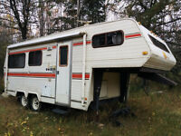 22' Okanagan Fifth Wheel for sale.