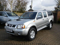 2003 53 Reg Nissan Navara D22 2.5 DI 4X4 FSH 1 Owner ( 48000 Miles )