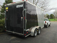 2013 Haulmark TSTV7X14WT2 Enclosed Trailer