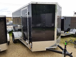 This Weeks Special: Black 7 x 14 Enclosed Cargo Trailer
