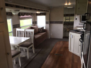 Travel Trailer Rental at Anchor Park, 2 bedroom, sleeps 7
