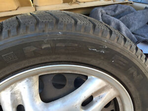 215 / 55 R 16 97H XL winter tires and rims