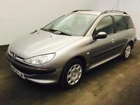 PEUGEOT 206 SW 1.4 S ESTATE [2004]>TO CLEAR £799< LONG MOT..HISTORY..DRIVES GOOD