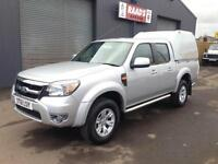 * SOLD * 2011 (61) Ford Ranger XLT 2.5TDCi Double Cab 4x4 Pickup Diesel