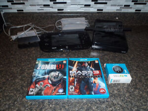 Wii U System/Gamepad and a couple of games