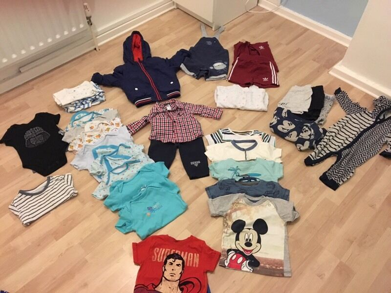 Boys clothes 6-9m to 9-12 months