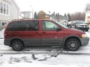 2001 Pontiac Montana Fourgonnette, fourgon