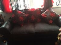 3 seater, 2 seater and matching swivel chair for sale