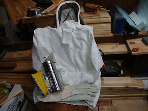Bee Keeper Outfit and Smoker