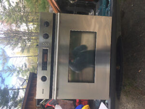 Bosch wall oven and range 700 obo
