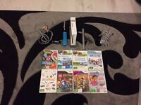 Wii console bundle (8 Games)