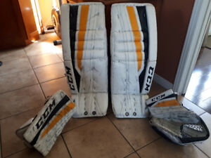 equipement de hockey gardien de but !