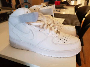 buy online 9e86c 9a9a0 Nike Air Force 1 mid white, size 12, unworn.