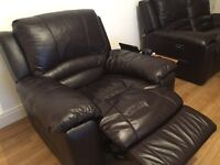 Single & Double leather Electric Recliners