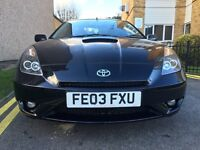 TOYOTA CELICA 1.8 MANUAL WITH LEATHER SEATS FSH