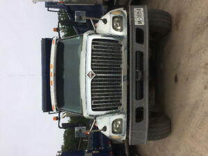 2005 International Triaxle Dump Truck