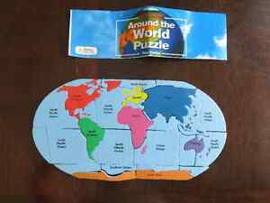 """Around the World"" Foam Puzzle"