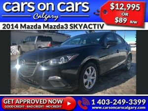 2014 Mazda Mazda3 SKYACTIV w/BlueTooth, USB Connect, Satellite R