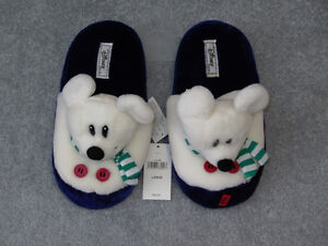 Mickey Mouse Polar Slippers/Toys, Adult