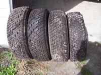 pneus hivers175/70/14
