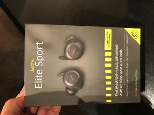 Jabra Elite Sport Wireless Sport Earbuds BNIB