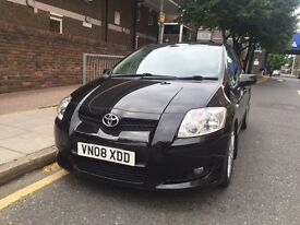 TOYOTA Auris 08reg DIESEL, service H and all previous mot's