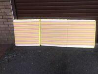 Spare mattress/ seat