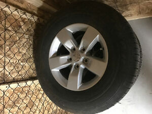 2016 Factory Dodge Rims and tires