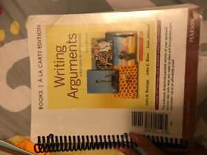 Writing Arguments: A Rhetoric with Readings 10th edition