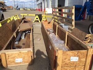 Free large crates