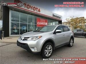 2015 Toyota Rav4 Limited   - trade-in - Certified - Navigation -