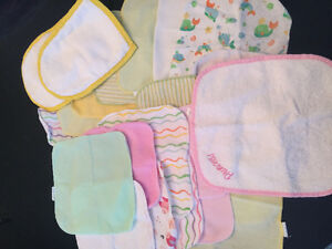 Mini towels/napkins for baby