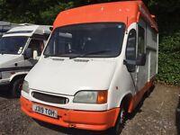 Burger Van for sale. Unfinished project